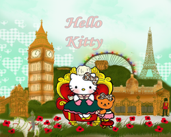 European Hello Kitty by KendraMB