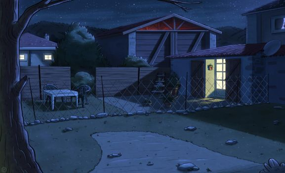 Background color exercise - Night by ClaudioNaccari