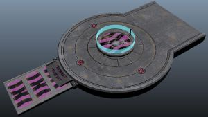 platform div parts textured by Ixopyxos