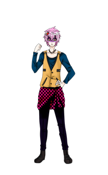 Minoru outside outfit sprite scared by AgletFreeGirl-25