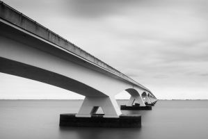 Zeeland Bridge 11 | Netherlands by JacktheFlipper-de