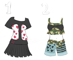 OTA Outfit Adopts 2 *CLOSED* by Mishaila