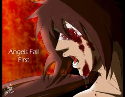 Uchiha Izuna - Angels Fall First by TussenSessan