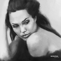 Angelina Jolie by dankershaw