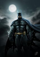 CONCEPT BATMAN COLOR by TheMonkey-DavidLanza