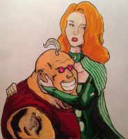 Strong Guy and Siryn by MarcoCalosci