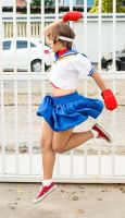 Sakura Kasugano - Street Fighter Series by Rafael-Alysson