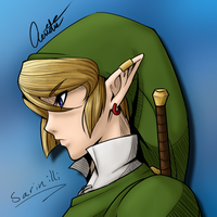 LoZ: MG - Link Colored by Sarinilli