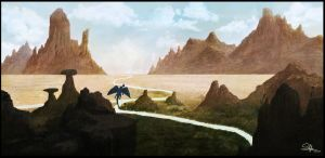 Mountains in Silence by KAVALIER