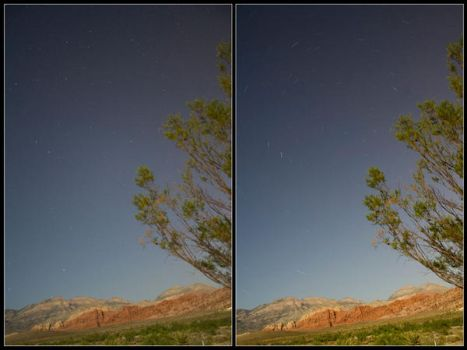 Star Points and Star Trails by huhuhuhu