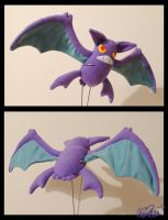 Crobat plushie by Eyes5