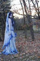 Corpse Bride in forest by Elentari-Liv