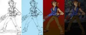 Ash Pencils to Colours by Dante424325