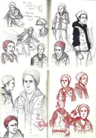Doodle Dump 17: Delsin Rowe by whitty-boo