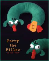 Perry The Pillow by MerionMinor