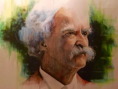 Mark Twain by cloudgap