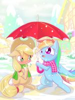 Snow of thaw by PhoenixPeregrine