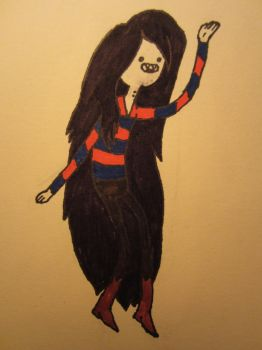 Marceline The Vampire Queen by toystoryfanatic