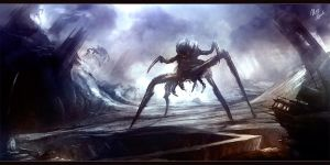 world of spiders (by Ilya Tyljakov RaZuM_inc) by RaZuMinc