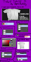 T-shirt design tutorial by AprilTheKitty
