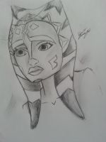 AhsokaTanoDrawing by N-Y-N-A