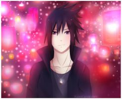 Sasuke Uchiha: Road to Ninja by PunksGoneDaft