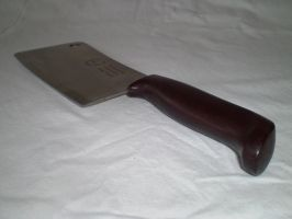 Meat Cleaver 1 by chaotickittie-stock