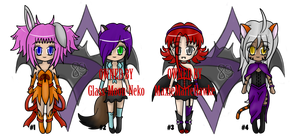 Collab Adopts with Marushi-Dracul (2 LEFT) by sihi-chan