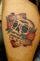 Die To Yourself by Steve-Rieck