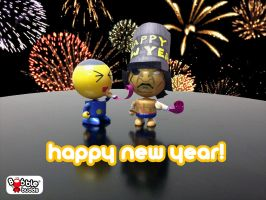 Happy New Year! by BobbleBudds