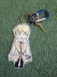 Chibi Russia Keychain by vivtheviolinist