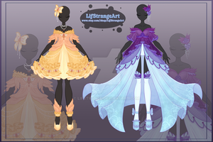 [Close]  Adoptable Outfit Auction 41-42 by LifStrange