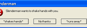 My first error message by MCPZR