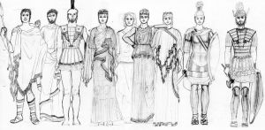 ANCIENT GREECE- Fashion History Study by FashionARTventures