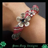Carmine modelled by green-envy-designs