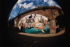 Fisheye Graffiti by karla-chan