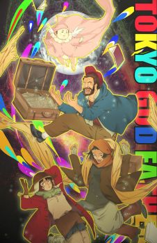 Tokyo Godfathers by fredericayang