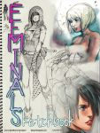 2012 Feminals Sketchbook PDF for $1.50+ by kasai