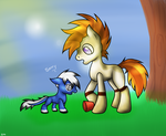 T and Cookie by lozix