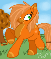 Themed Pony Adopts #1 - Autumn Pony :CLOSED: by Prettyxmouse