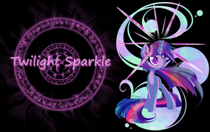 Twilight Sparkle Wallpaper by Thoron95