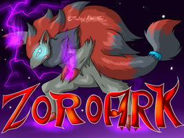 Zoroark by Freaky--Like--Vivi