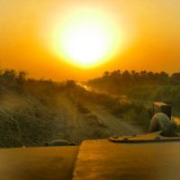 Scary Iraq Sunset by Soldier-Photographer