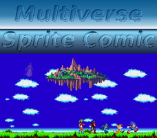 Multiverse Sprite Comic Cover by MegaManModelT101