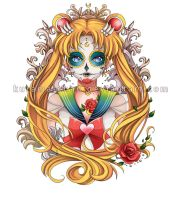 -- Sailor Moon Tattoo Commission -- by Kurama-chan