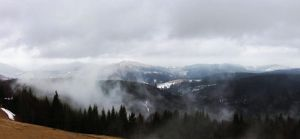 Fog in the mountains by LissaLisitsa