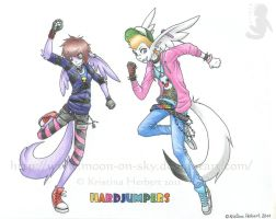 :Gift: HardJumpers by MoonyWings