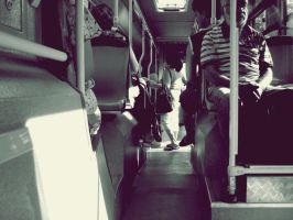 In the bus by peps4o