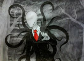 Slender Man by ShadowsNeko