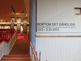 EXHIBITION_Entrance by MANDELWERK